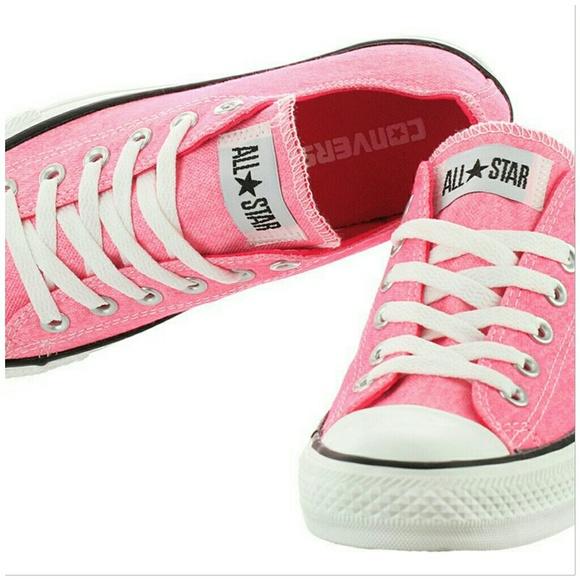 Converse Shoes   Unisex Pink Allstar